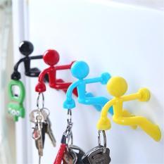 Hadiah Terbaik Pengait Kunci Kreatif Climbing Penjahat Magnet Kunci Gantungan Empat Warna Menempatkan Di Kulkas Bir Pembuka Botol Kunci Gantungan- INTL