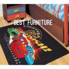 Best Karpet Anak Bermain & Merangkak dengan Bulu Lembut Karakter Anak Laki-laki uk100x150 - Random