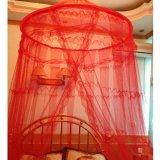 Promo Toko Best Kelambu Gantung Big Circle Besar Motif Anti Nyamuk Kasur Tempat Tidur Merah
