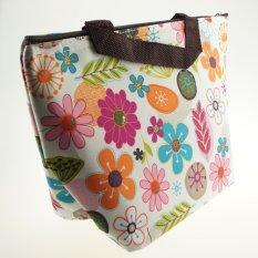 Promo Toko Best Lunch Bag Thermal Fashionable Tas Bekal Tas Makanan Tas Jinjing Georgeus Flower