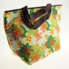 Jual Best Lunch Bag Thermal Fashionable Tas Bekal Tas Makanan Tas Jinjing Spring Flower Branded Original