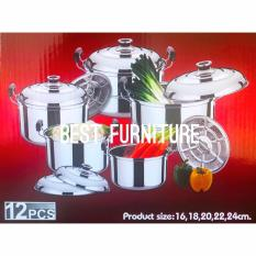 Best Quality Stainless Steel High Pot 5in1 - Panci dan Steamer