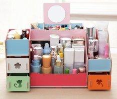 Jual Best Rak Kayu 028 Kosmetik Jewelery Cosmetic Storage Stationary Organizer Kombinasi Best Original