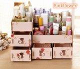 Harga Best Rak Kayu Kosmetik 213 Catty Cosmetic Stationary Alat Tulis Organizer Pink Flower Yg Bagus
