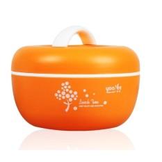 BEST Rantang Makanan Yooyee #406 Apple Lunch Box (Ukuran Besar) Kotak Tempat Bekal Makan Bisa Microwave dan di Freezer