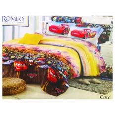 Harga Best Romeo Seprai Anak Cars Katun Import Uk 120X200 Merah Murah