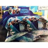 Spesifikasi Best Romeo Seprai Anak Frozen Katun Import Uk 120X200 Biru Murah