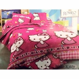 Best Romeo Seprai Anak Kitty Katun Import Uk 120X200 Pink Best Diskon 40