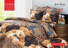 BEST SELLER!! Bedcover Batik Carmina - Java Bear ukuran 180x200seprai kintakun / seprai bonita / seprai my love / seprai polos / seprai murah / seprai rumbai / seprai california / seprai karakter