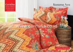BEST SELLER!! Bedcover Batik Carmina - Kusuma Ayu ukuran 120x200seprai kintakun / seprai bonita / seprai my love / seprai polos / seprai murah / seprai rumbai / seprai california / seprai karakter