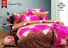 BEST SELLER!! Bedcover Kendra Premiere 160x200 - Leopard Roseseprai kintakun / seprai bonita / seprai my love / seprai polos / seprai murah / seprai rumbai / seprai california / seprai karakter
