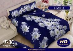 BEST SELLER!! Bedcover Kintakun Luxury 3D ukuran 180 x 200 motif Cameoseprai kintakun / seprai bonita / seprai my love / seprai polos / seprai murah / seprai rumbai / seprai california / seprai karakter