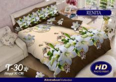 BEST SELLER!! Bedcover Kintakun Luxury 3D ukuran 180 x 200 motif Renitaseprai kintakun / seprai bonita / seprai my love / seprai polos / seprai murah / seprai rumbai / seprai california / seprai karakter