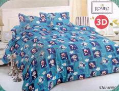 BEST SELLER!! Bedcover Romeo ukuran 120 x 200 / Extra Single / No.3 - Doraemonseprai kintakun / seprai bonita / seprai my love / seprai polos / seprai murah / seprai rumbai / seprai california / seprai karakter