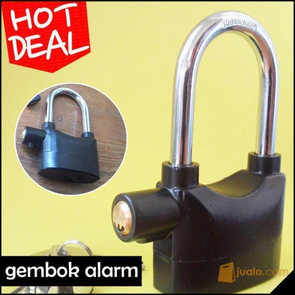 Beli sekarang [Best Seller] Gembok Alarm Anti Maling Motor dan Rumah - Hitam terbaik murah - Hanya Rp72.789
