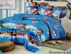 BEST SELLER!! Sprei Romeo ukuran 100 x 200 - Doraemon & Friendsseprai kintakun / seprai bonita / seprai my love / seprai polos / seprai murah / seprai rumbai / seprai california / seprai karakter