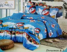 BEST SELLER!! Sprei Romeo ukuran 120 x 200 / No.3 - Doraemon & Friendsseprai kintakun / seprai bonita / seprai my love / seprai polos / seprai murah / seprai rumbai / seprai california / seprai karakter