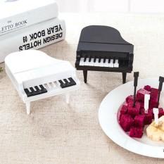 BEST SELLER Sunweb Piano Pemodelan Buah Forks Party Sayuran Kue Dessert Forks Dekorasi Meja-Intl