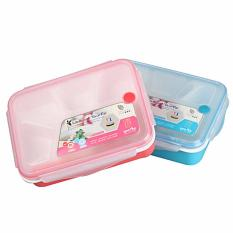 Review Best Yooyee Lunch Box 5 Sekat Bento 368 Kotak Bekal Makan Kotak Makan Lunchbox Yoo Yee Biru Di Dki Jakarta