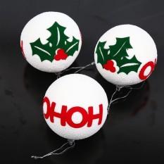 Bestprice-Hanging Pohon Natal Bola Dekorasi Meriah Decor Home Garden Party-Intl Rich Long