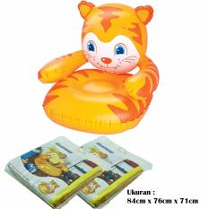 Bestway 75060 Baby Tiger Chair / Sofa Angin Anak Motif Macan