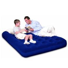 Toko Bestway Double Air Bed Matras Biru Kasur Tidur Pompa Angin Sportsite