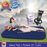 Jual Bestway Kasur Angin Twin Pompa Angin 12 Lem Paket Bestway Ori