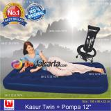 Jual Bestway Kasur Angin Twin Pompa Angin 12 Paket Branded