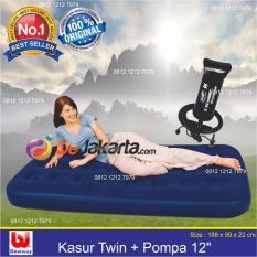 Bestway Kasur Angin Twin Pompa Angin 12 Paket Banten