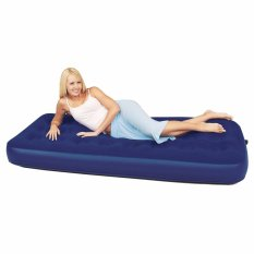 Bestway Twin Air Bed Matras (Biru) Kasur Tidur Pompa Angin