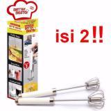 Harga Better Beater Hand Mixer Otomatis Pengocok Telur Isi 2Pcs Fullset Murah