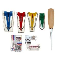 Bias Tape Pembuat Binding Mesin Jahit Quilting Tool (Multicolor)-Intl