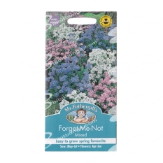 Bibit Bunga Benih Mr Fothergills Forget Me Not Mixed