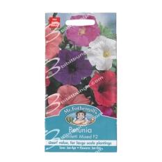 Bibit Bunga Benih Mr Fothergills Petunia Confetti Mixed F2