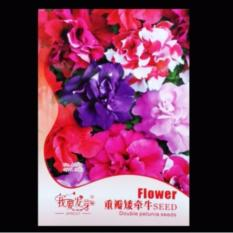 Bibit Bunga Benih Petunia Double Petal Mixed 10 Biji – Retail Asia
