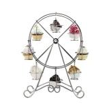 Promo Big Ferris Wheel Large Cupcake Stand Dessert Christmas Muffin Cake Holder Stand Intl