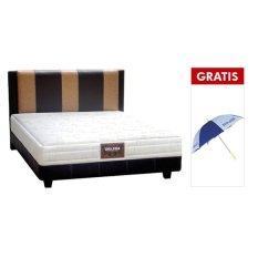 Ongkos Kirim Bigland Bed Set Reguler Sand 720 Cokelat Free Payung Dan Bantal Guling Di Banten