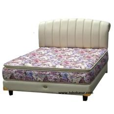 BIGLAND King Pocket pillow topFlorist 100x200 Kasur Tanpa Divan/Sandaran