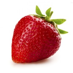 biji benih buah strawberry jumbo berisi 20 butir