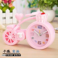 Bike Alarm Clock Creative Craft - Jam Weker Sepeda Plastik