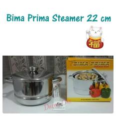 Bima Prima Steamer 22 Cm Langseng Panci Kukus Original
