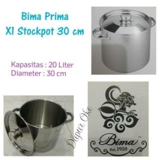 Spesifikasi Bima Prima X1 Stockpot 30 Cm Panci Tinggi Terbaru