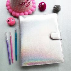 Spesifikasi Binder Hologram Silver A5 20 Ring Crable Stationery Crable Stationery