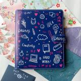 Harga Binder Printing Dream Blue B5 26 Ring Crable Stationery Terbaik