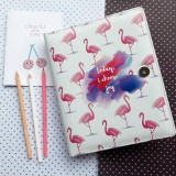 Beli Binder Printing Flamingo A5 20 Ring Crable Stationery Cicil