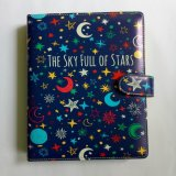 Toko Binder Printing Stars B5 26 Ring Crable Stationery