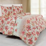 Review Toko Bintang Set Bed Cover Katun Lokal Daisy Pink Online