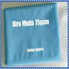 Biru Muda 75 Gsm- Kain Furing-Kain Spunbond