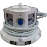 Ulasan Mengenai Birutech Stop Kontak Vertikal Multifungsi 1 Tingkat 4 Power Plugs 5 Port Usb Abu