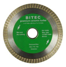 Ulasan Lengkap Tentang Bitec Mata Pisau Potong Keramik Wet Dry 4 Turbo